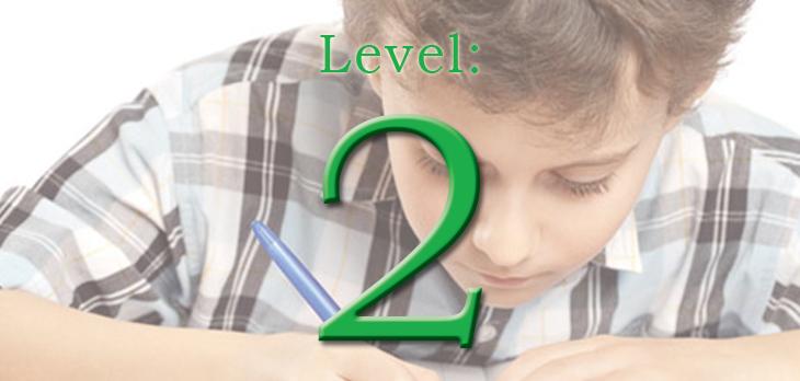 Level 2 Homework